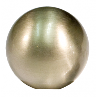 Möbelknopf BALL 200   D=19 mm, Nickel velours