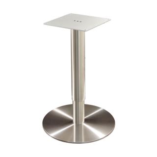 Tischgestell Edelstahl Höhenverstellbar Colum Hv 1