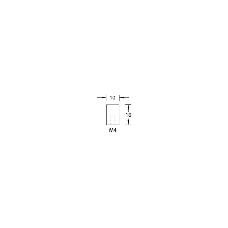 Magnetverschluss Mit Gewinde M 4